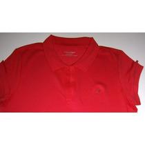 Blusa Polo Calvin Klein - Em V - Camiseta Feminina Original