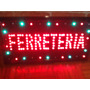 Cartel Led Ferretería Carnicería Bar Verduleria Cafec/video