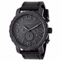 Reloj Fossil Hombre Jr1354 Lujo- Negro