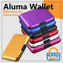 Aluma Wallet Billetera Cartera Protectora Como En Tv