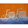 Kit Aramado - 10 Mini Bicicletas + 15 Mini Gaiolinhas