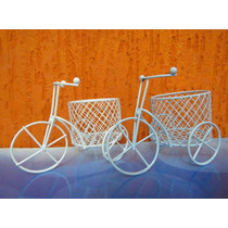 Kit Aramado - 15 Mini Bicicletas + 15 Mini Gaiolinhas