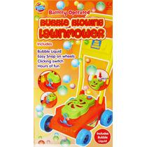 Máquina De Burbujas Tipo Cortadora De Césped Para Niños
