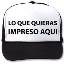 Gorras Personalizadas Con La Imagen Que Quieras!!!