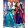 Muneca Frozen Elsa Ana 30m Y Peluche Frozen Elsa Y Ana 45cm