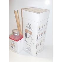 Souvenirs 40 Difusores Aromaticos En Cajas Personalizados