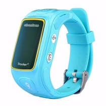 Smartwatch Monitor Niños Gps Sos Emergencia Ubicacion Azul