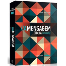 Bíblia A Mensagem Média Em Linguagem Contemporânea Brochura