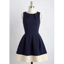 Vestido Lindo Vintage Retro Duas Cores