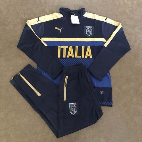 Agasalho Seleção Itália Azul E Branco 2018 - R  239 fc3c7dfbb679d