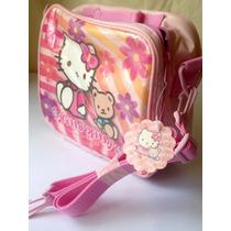 Lonchera Termica Hello Kitty Sanrio Original