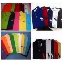 Camisa Polo Masculina Kit 5 Camiseta Polo, Atacado Revenda