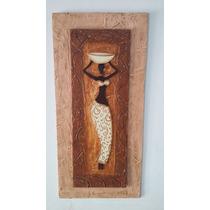 Cuadro De Arte Moderno - Silueta Africana