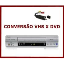 Video K7 Conversor Vhs Para Dvd Conversor Anúncio P/ Celular