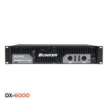 Amplificador Bunker Dx-6000 Watts 3000 Winners
