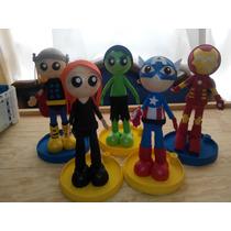 Centro De Mesa Avengers, Fiestas Infantiles, Recuerdos