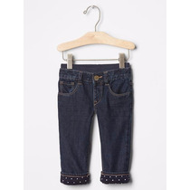 Calça Jeans Gap Unissex 6-12 Meses Importada