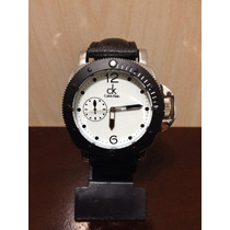 Relógio Calvin Klein Ck Em Couro Masculino
