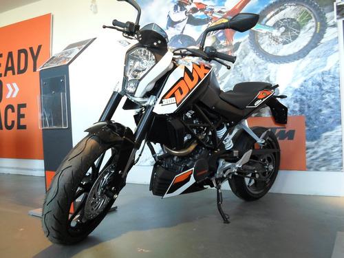 Ktm Duke 200 0km Blanco / Naranja - $ 169.900 en Mercado Libre