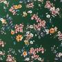 Flores Verde-Blanco (Polilycra)