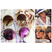 Kit 5 Óculos Sol Carlina Oversize Redondo Atacado Revenda