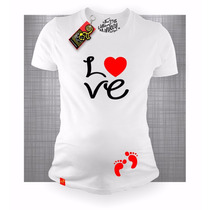 Blusa Playera Maternidad Embarazo Bebes Gecko Promocion 5x4
