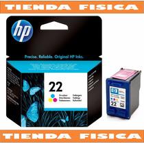 Cartucho Hp Original 22 C9352al Color Tienda Fisica Factura