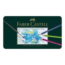 Lápis De Cor Aquarelável 120 Cores Faber Castell Albrecht