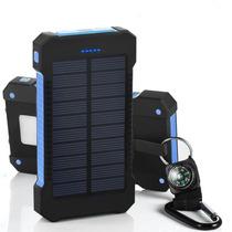 Bateria Solar Externa Portatil 20,000mah 2x Usb Pila Celular