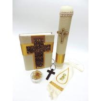 Set Biblia Latinoamericana Para Primera Comunión 02fw02