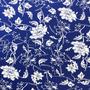 Flores Azul-Blanco (Polilycra)