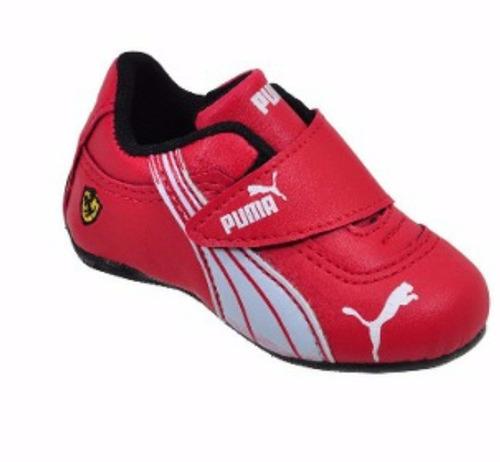 6c5dc252ae8 Tenis Puma Ferrari Infantil Kit Com 10 Pares Atacado Oferta - R  389 ...