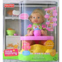 Little Mommy Hora De Comer Muñeca Bebe Fisher Price Español