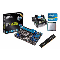 Kit Asus H61m-a/br Hdmi + Core I5 3470 3.6 Ghz + 8gb Hyperx