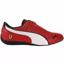 Tenis Scuderia Ferrari Drift Cat 6 Zip Hombre 01 Puma 305471