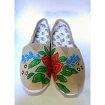 Zapatillas Alpargata De Mujer Diseño Único