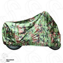 Motocicleta Funda Xl Impermeable Lluvia, Anti Uv Camuflaje