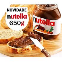 2 Creme De Avelã Nutella 650g Gigante Ferrero Pronta Entrega