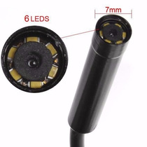 Camara Inspeccion Endoscopio Boroscopio 2 Metros Pc Lap Usb