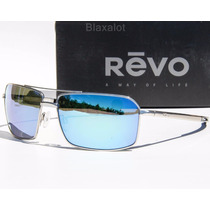Anteojos Evo Cayo Polarized Sunglasses Chrome/water M