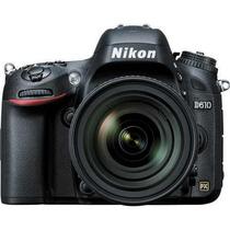 Nikon D610 Dslr Camera Com Lente 24-85mm (nova Lacrada)