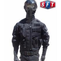 Chaleco Tactico Sft-pol® Negro De Semper Fi Tactical®.
