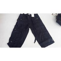 Pantalon Fragile Jeans By Oxox Capri Cargo Dama Modelo Fs104