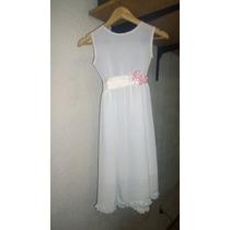 Vestido De Fiesta (casamiento-bautismo) Nuevo