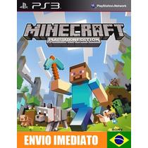 Minecraft Ps3 Edition - Ps3 - Português Pr-br - Promoção !!