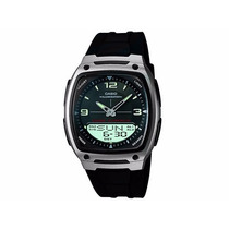 Relógio Masculino Anadigi Casio Standard Aw-81-1a1vdf Novo