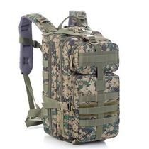 Mochila Tactica Tipo Militar Backpack Color Camo Digital