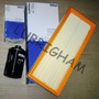 Kit Filtros Vw Vento 2.0 Tsi - Mahle Aire + Aceite