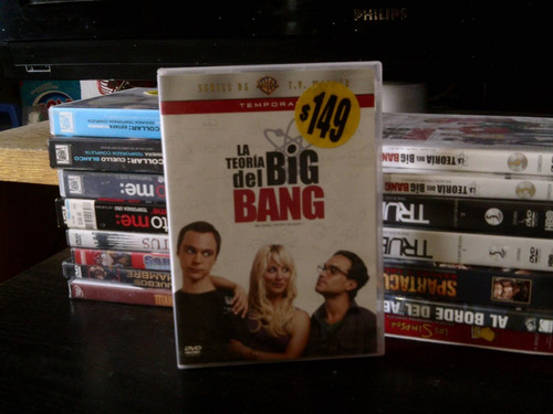 the big bang theory temporada 1   125 00 en mercado libre
