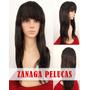 Peluca 100% Pelo Natural Humano Lace Front Zanaga
